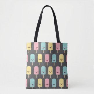 Fun Happy Kawaii Ice Lollies Tote Bag