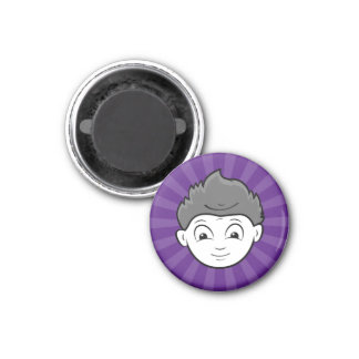 Fun Happy Or Mad Two Faces in One Magnet