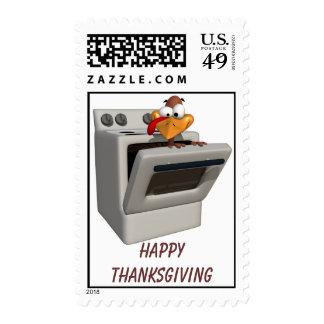 Fun Happy Thanksgiving Postage