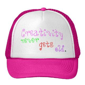 Fun Hat Creativity Never Gets Old Trucker Hat