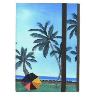 Fun Hawaiian Beach Painting iPad Air Case