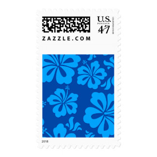 Fun Hawaiian flower stamp