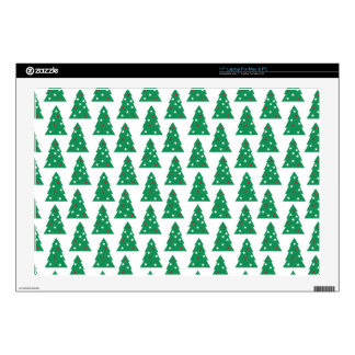 """Fun Holiday Tree Pattern Decal For 17"""" Laptop"""