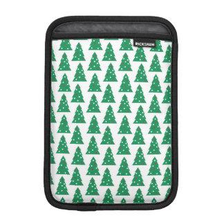 Fun Holiday Tree Pattern Sleeve For iPad Mini