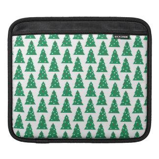 Fun Holiday Tree Pattern Sleeve For iPads