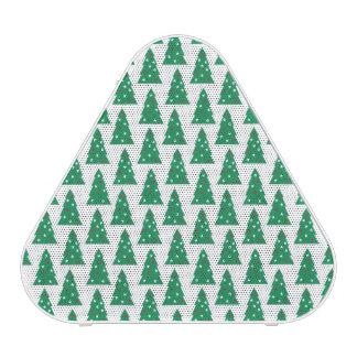 Fun Holiday Tree Pattern Speaker