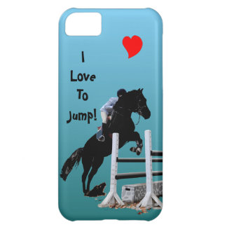 Fun Horse Jumper Cover For iPhone 5C