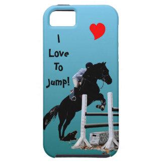 Fun Horse Jumper iPhone 5 Case