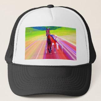 fun horse trucker hat