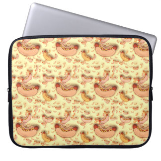 Fun Hot Dog Wiener Design, Laptop Sleeve