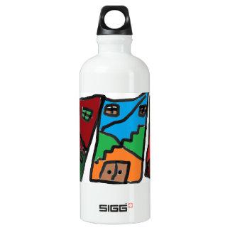 Fun house water bottle