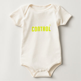 Fun Humor Sarcastic Saying Vain No Selfie Control Baby Bodysuit