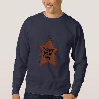 Fun Humor Yappy Knew Yere Star Sweat Shirt