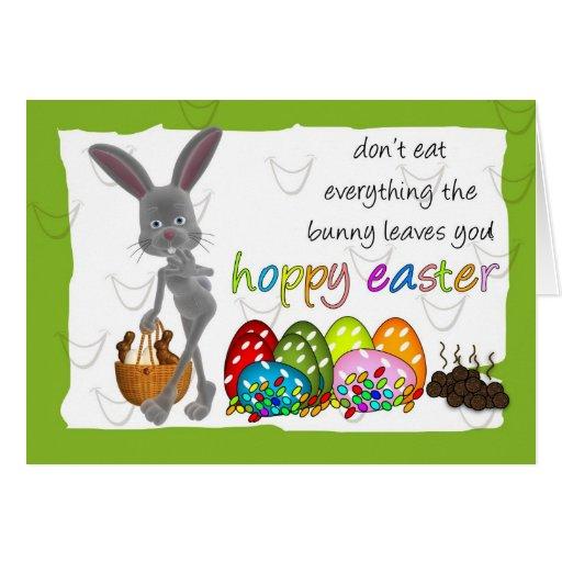 Fun Humorous Easter Greeting Card