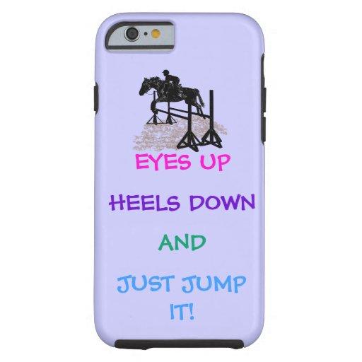 Fun Hunter/Jumper Equestrian iPhone 6 Case