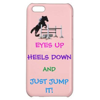 Fun Hunter/Jumper Equestrian iPhone 5C Cover