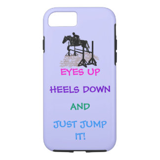 Fun Hunter/Jumper Equestrian iPhone 8/7 Case