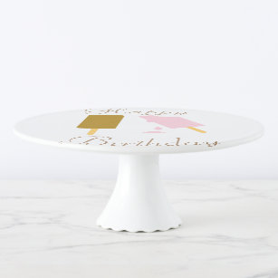 Fun Ice Cream Hy Birthday Cake Stand