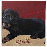 Fun iCuddle Long Hair Dachsund Cloth Napkin