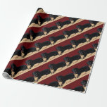 Fun iCuddle Long Hair Dachsund Wrapping Paper