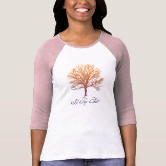 "Fun ""I'd Tap That!"" Sugar Maple Tree Design T-Shirt"