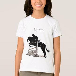 Fun iJump Horse Jumper Girls T-Shirt