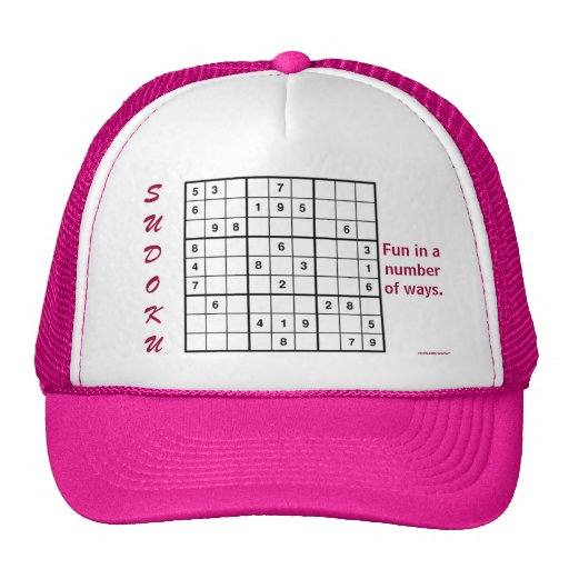 Fun In A Number Of Ways Trucker Hat