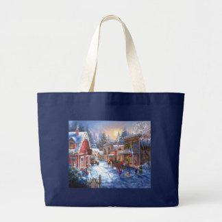 Fun In Christmas Town Tote Bags