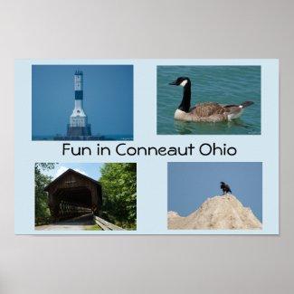 Fun in Conneaut Ohio Poster