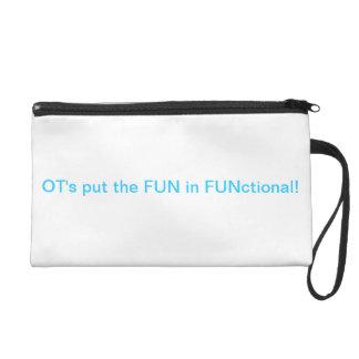 FUN in functional OT Wristlet Purse