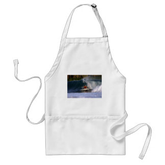 Fun in paradise tropical island surfing wave aprons