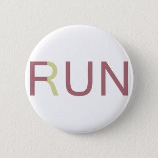 Fun In Run Pinback Button