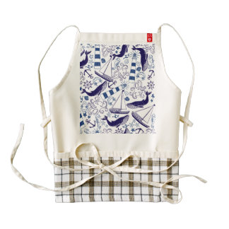 Fun in the Sea Zazzle HEART Apron