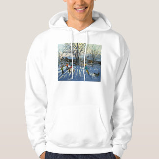 Fun in the snow Tideswell Derbyshire Hoodie