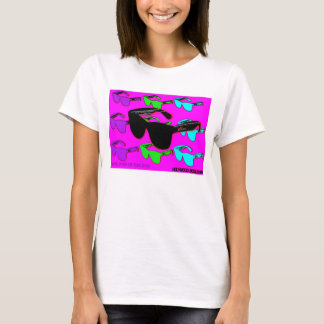 FUN IN THE SON- LADIES-PINK GLASSES T-Shirt