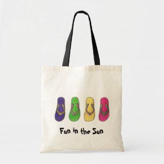 Fun in the Sun Canvas Bag