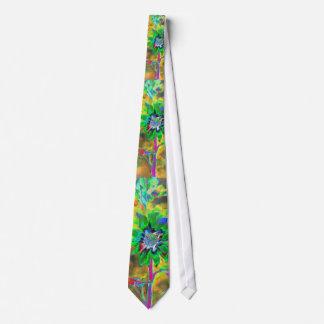 Fun in the Sun green Neck Tie