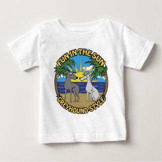 FUN IN THE SUN GREYHOUND STYLE BABY T-Shirt