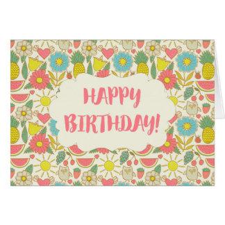 Fun in the Sun Happy Birthday Card