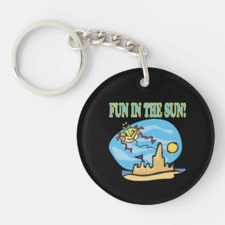 Fun In The Sun Keychain