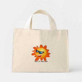 fun in the sun mini tote bag