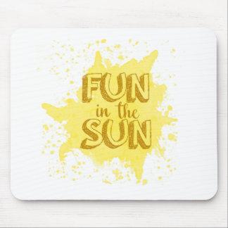 Fun in the Sun Mouse Pad