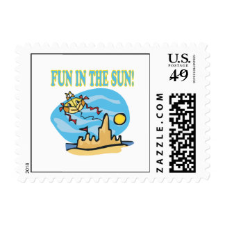 Fun In The Sun Postage