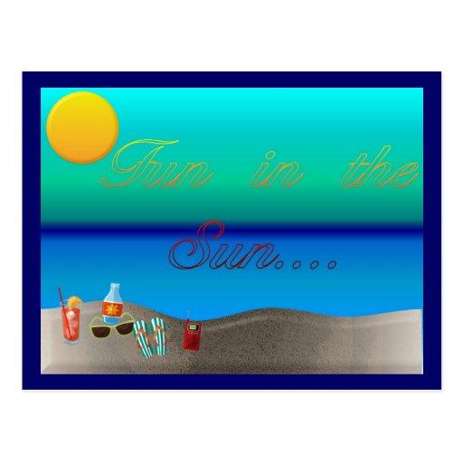 Fun In The Sun Postcards