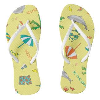 Fun in the Sun Sand 'n Sea Flip Flops