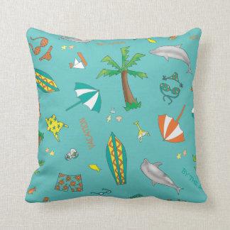 Fun in the Sun Sand 'n Sea Throw Pillow