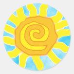 Fun In the Sun Stickers