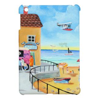 'fun In The Sun' summer beach painting iPad Mini Covers
