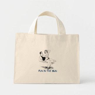 Fun In The Sun - Vintage Mini Tote Bag