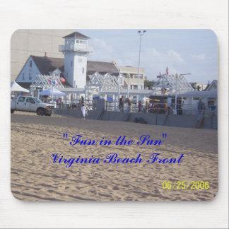 """Fun in the Sun"" Virginia Beach Mouse Pads"